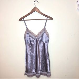 Victoria Secret Satin Lace Teddie Lingerie Sleeper